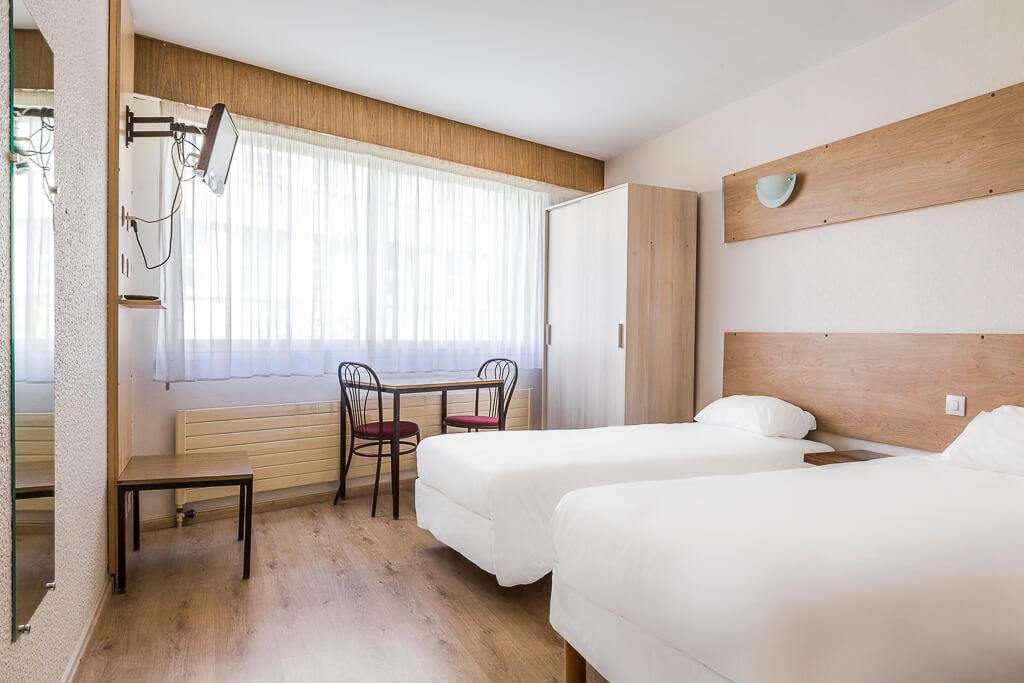 hotel grenoble gare chambre twin